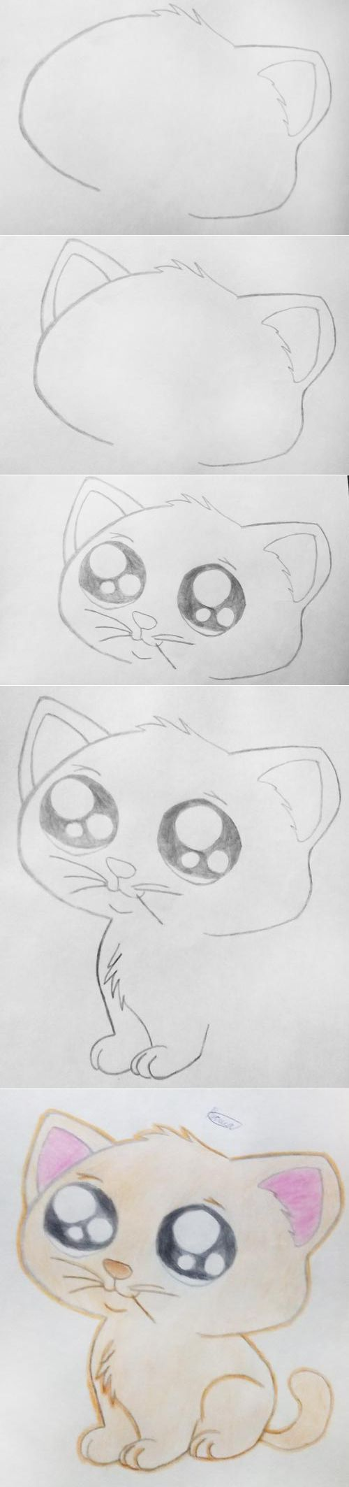 картинки милых котят с милыми глазками поэтапно уникальным