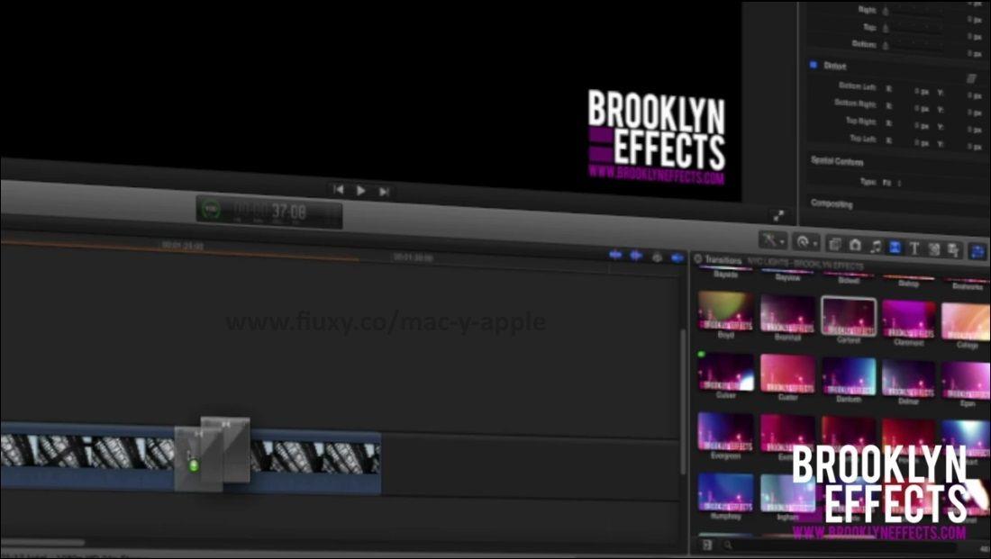 Brooklyn Effects - Film Burns and Leaks For Final Cut Pro X