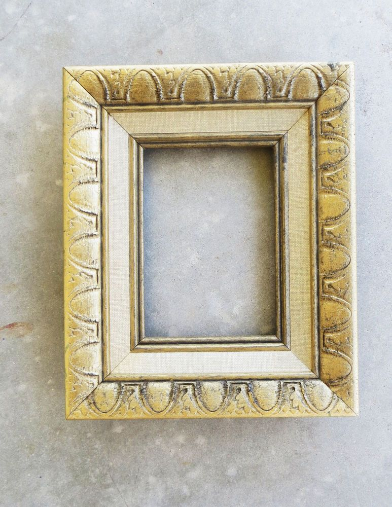 Wood Frame Gold Accent Color 9 1 2 X 11 1 4 Outside 4 1 2 X 6 1 2 Inside Accent Colors Wood Frame Frame