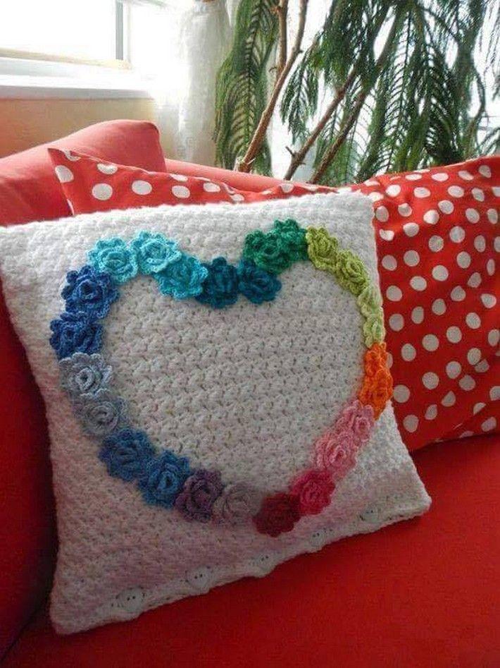 40 Crochet Cushion Design Ideas | Guy, Crochet and Crochet cushions