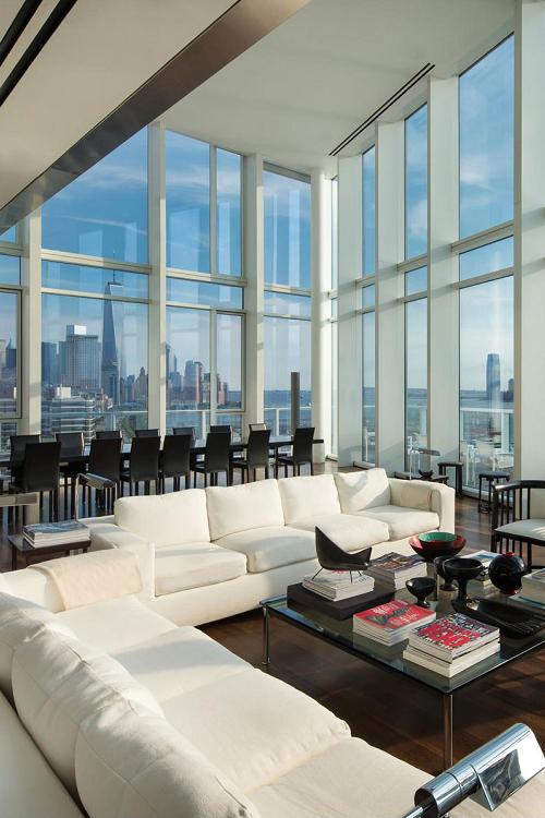 Livingpursuit: U201cApartment In The Meatpacking District, New York | Source U201d. Modernen  LuxusModerne ArchitekturWaschbeckenHaus ...