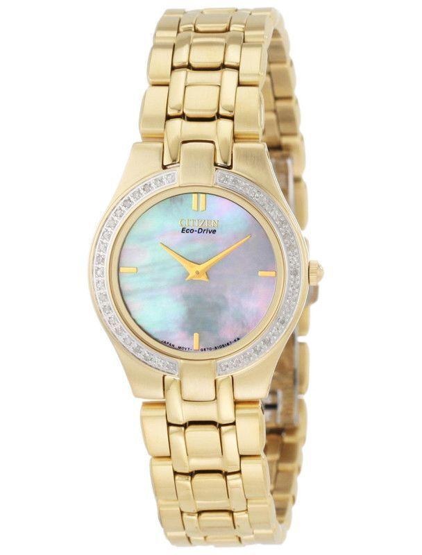 Citizen EG3152-56D Women's Stiletto Eco Drive Sapphire Watch