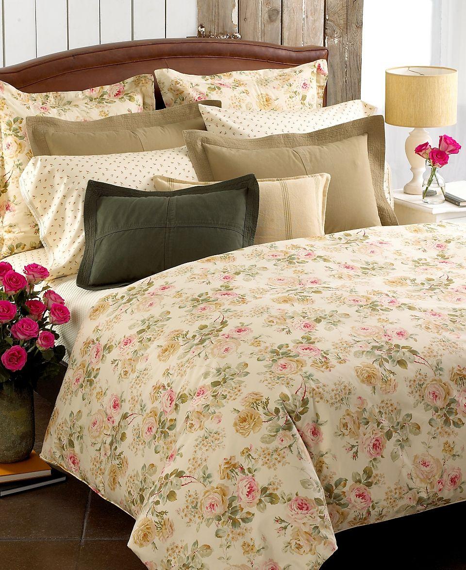 Lauren Ralph Lauren Woodstock Garden Floral · Floral BeddingRose PatternsPillow  ...
