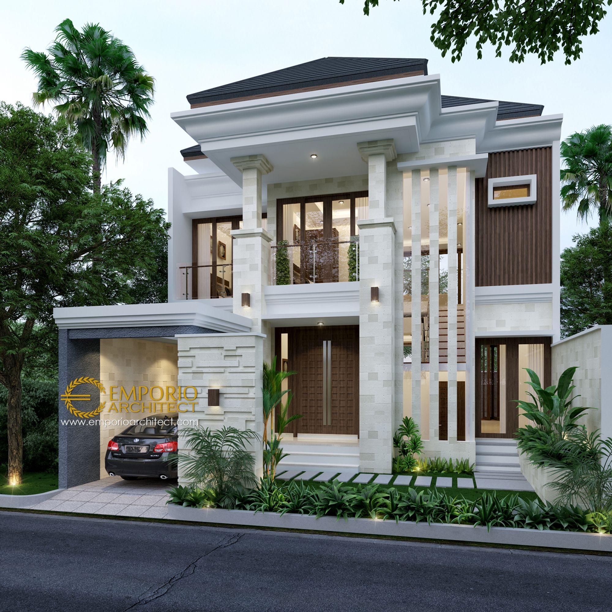 Jasa Arsitek Karawang Jawa Barat Desain Rumah Bapak Norman