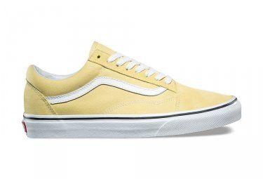 chaussure femme vans jaune