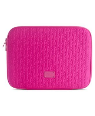 Michael Kors, Neoprene Mac Book Case - WANT.. although I don't think they make it for the bigger macbooks :(