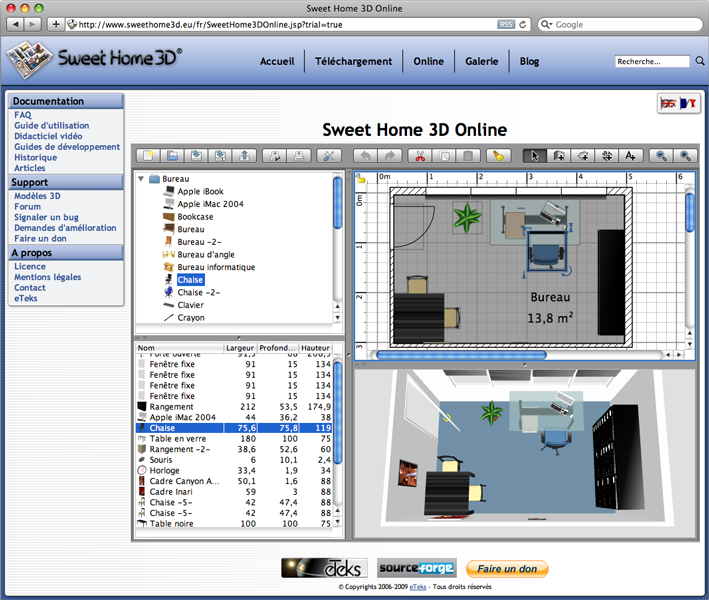 Sweet Home 3d Is A Free Interior Design Application That Helps You