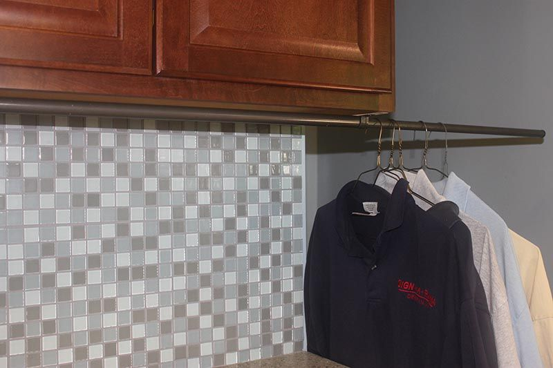 Diy Clothes Rack Laundry Room