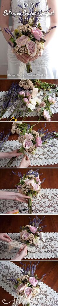 Make your own wedding bouquet with silk flowers from Afloral.com ...