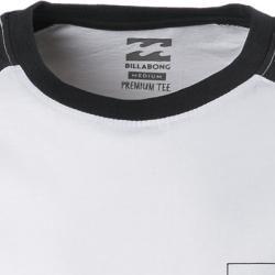 Photo of Billabong men's T-shirt longsleeve, cotton, white-black Billabong
