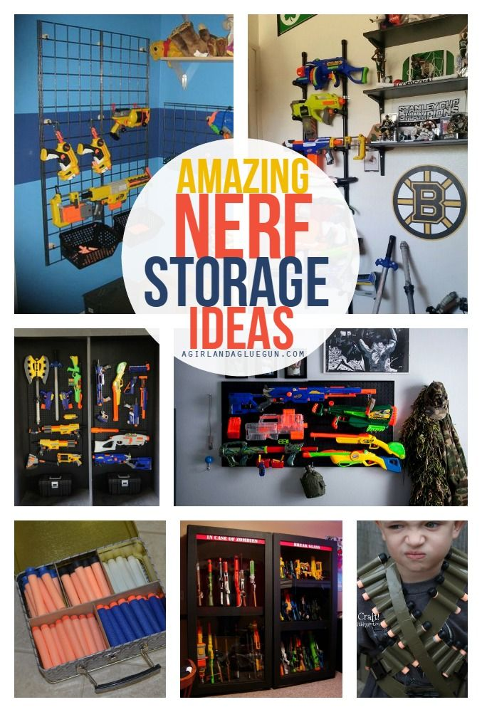 Nerf storage ideas | Bullet, Ceilings and Guns