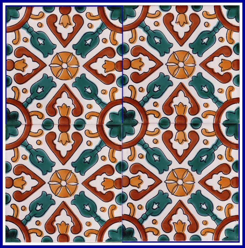 North Africa & Middle East Design Tile By Sintra