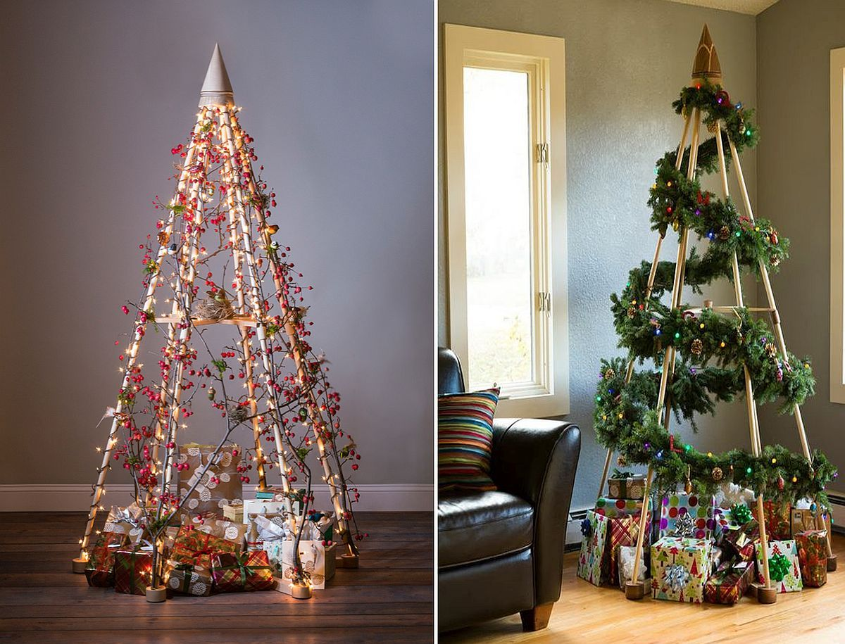 Cool Christmas Trees.21 Cool Christmas Tree Alternatives Including Trendy