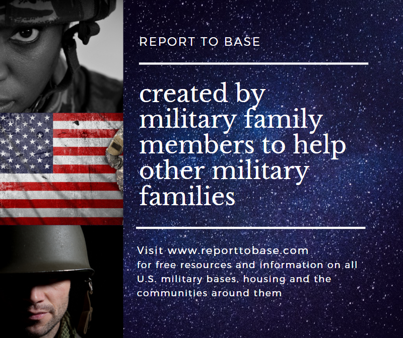 We are a group of military family members who created an