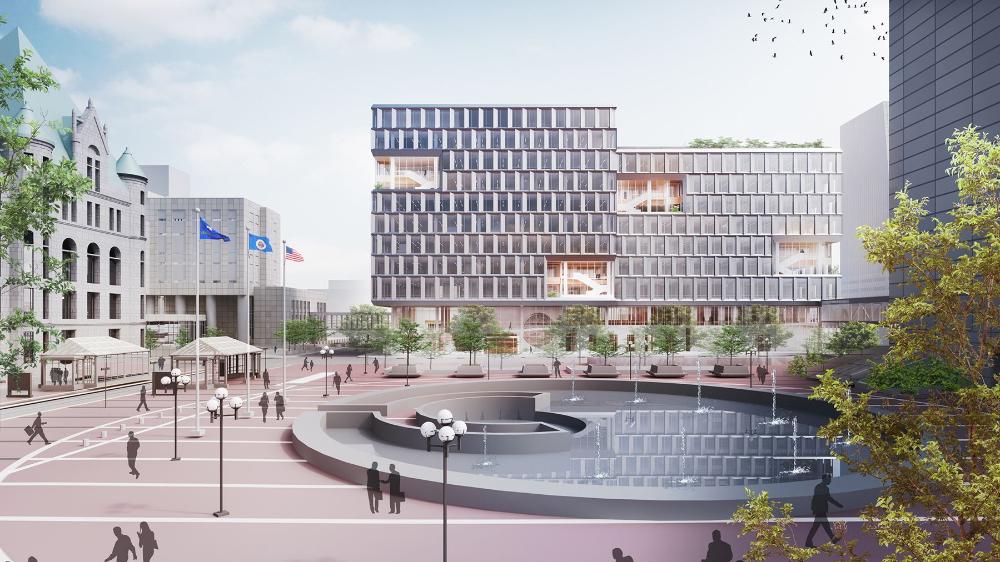 Henning Larsen | Minneapolis New Public Service Building ...