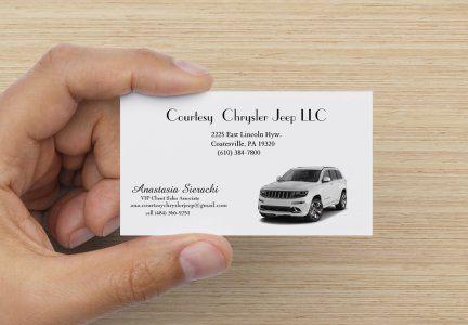 Customize Your Signature Business Card