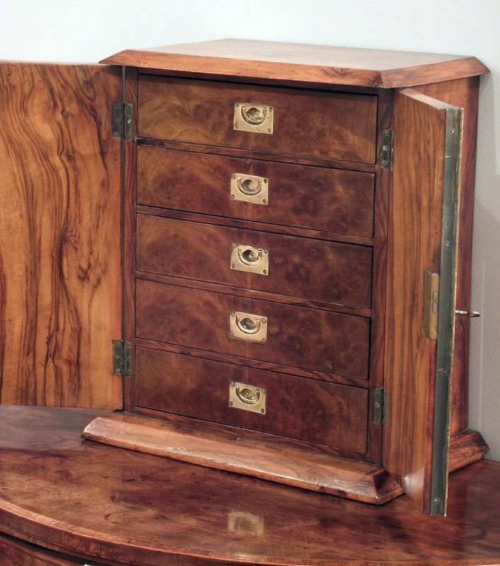 Victorian burr walnut collectors cabinet with a good aged patina - See more  at: http - Victorian Burr Walnut Collectors Cabinet With A Good Aged Patina