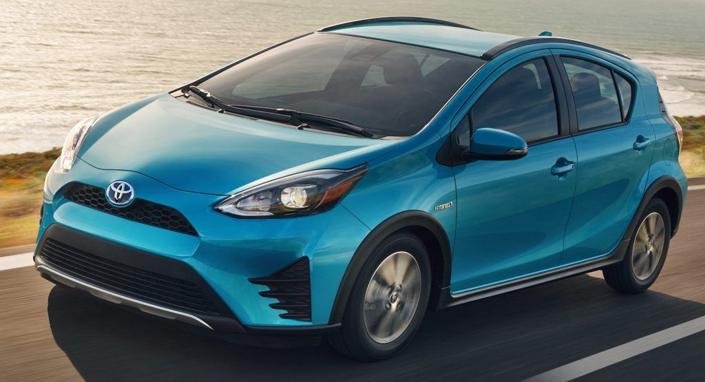 This Special Edition 2016 Toyota Prius C Persona Series Is Only