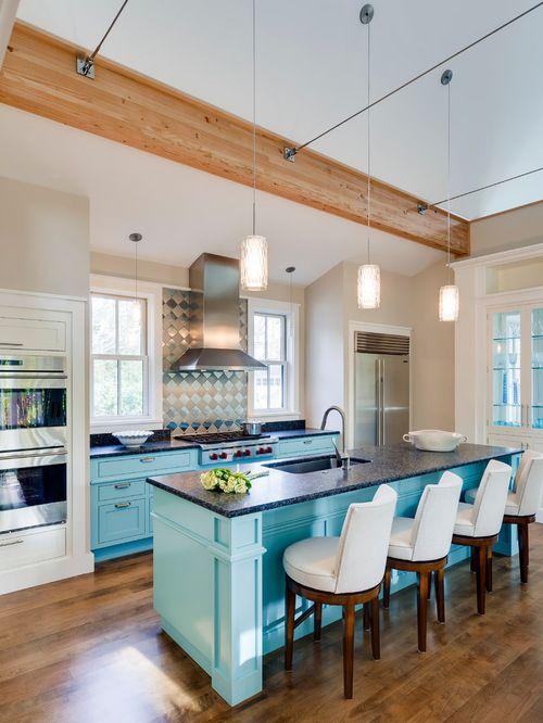 Jamaican Aqua Kitchen Google Search Blue Kitchen Cabinets Kitchen Design Kitchen Remodel