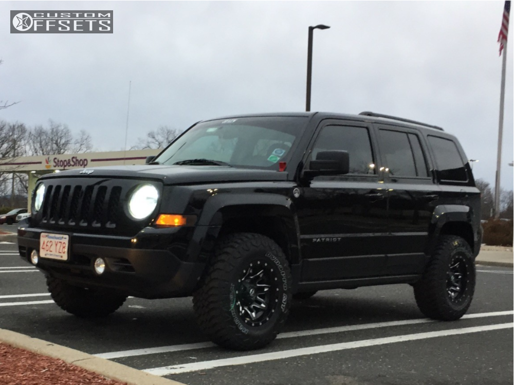 13 2016 Patriot Jeep Rocky Road Outfitters Suspension Lift 25in