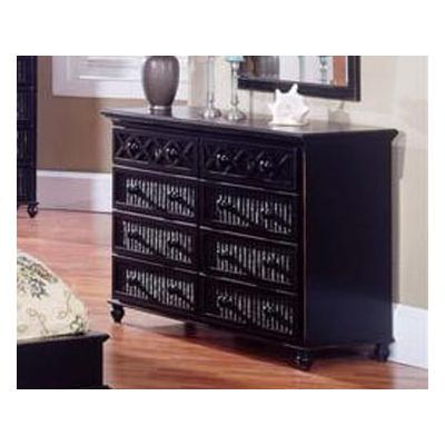 Black Wicker Dresser | Best Black Dresser | Wicker dresser ...