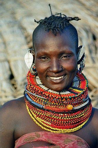 Africa Kenia Turkanawoman Beauty Around The World African