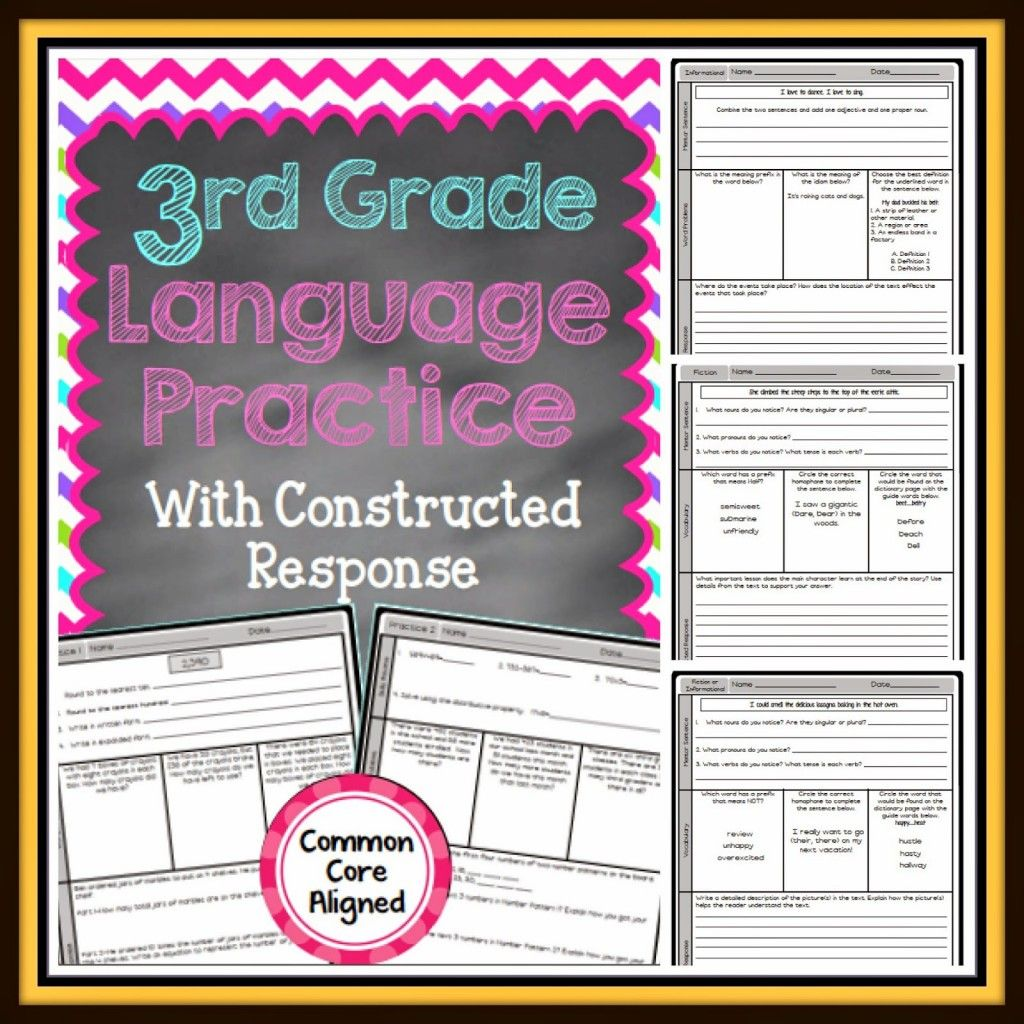 This Weekly Language Arts Practice Is Perfect For Homework
