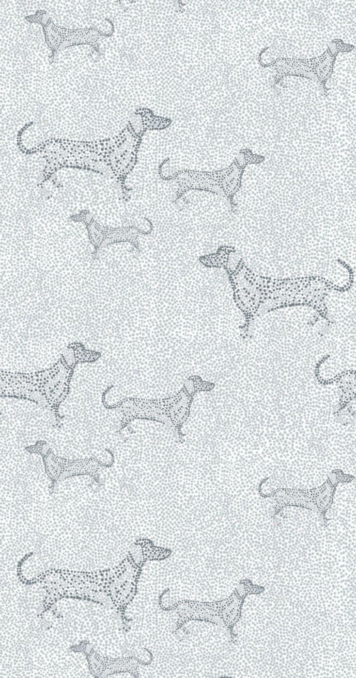 Mayris By Vallila Grey Wallpaper 5142 1 Bathroom In
