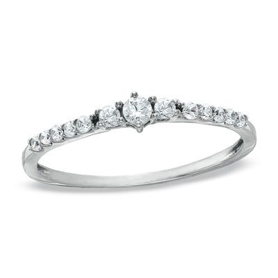 This Is Like The Ideal Ring Promise Ring 1 5 Ct T W