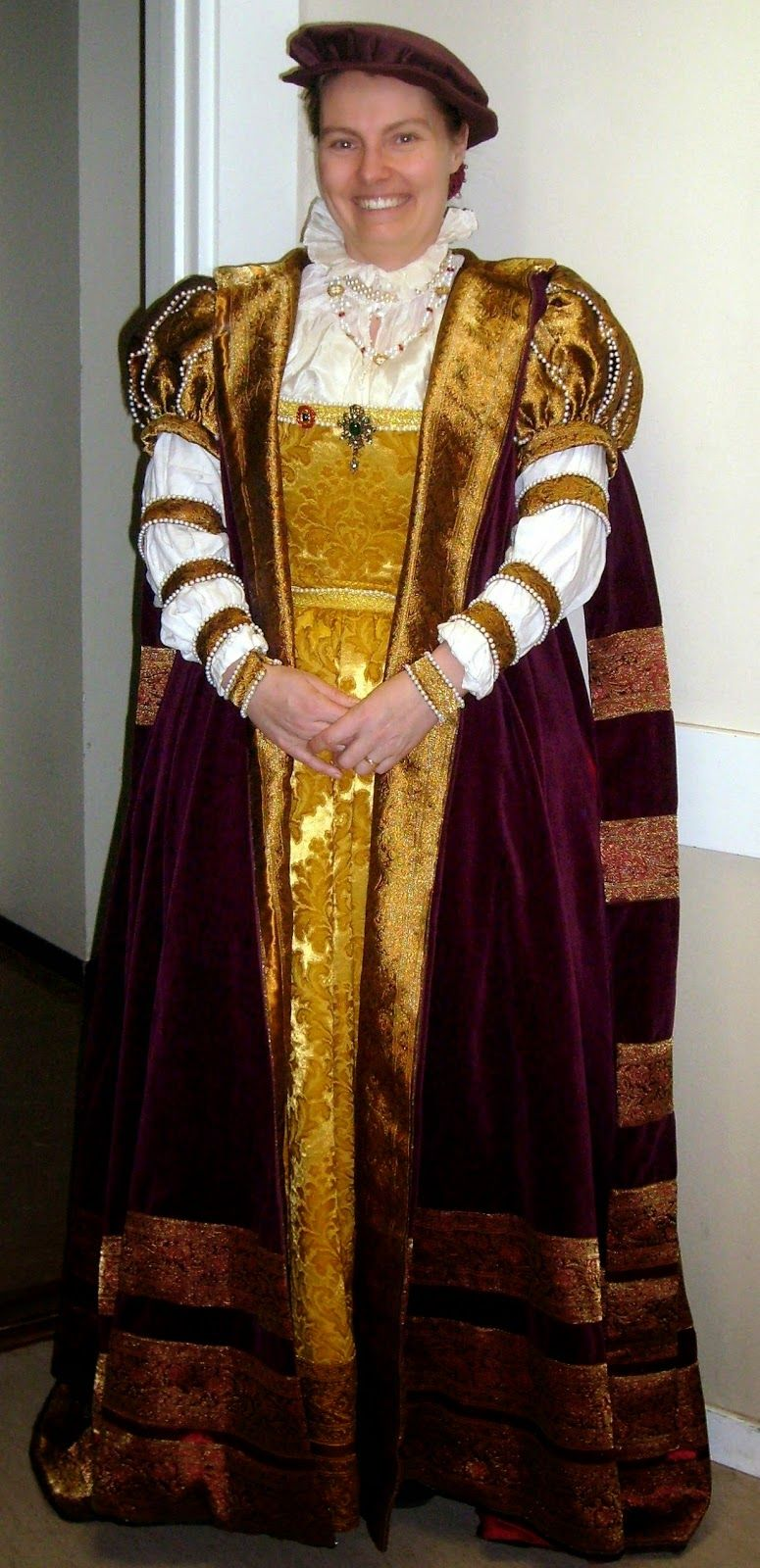 Evau0027s historical costuming blog A mid-16th century Swedish court gown  sc 1 st  Pinterest & Evau0027s historical costuming blog: A mid-16th century Swedish court ...