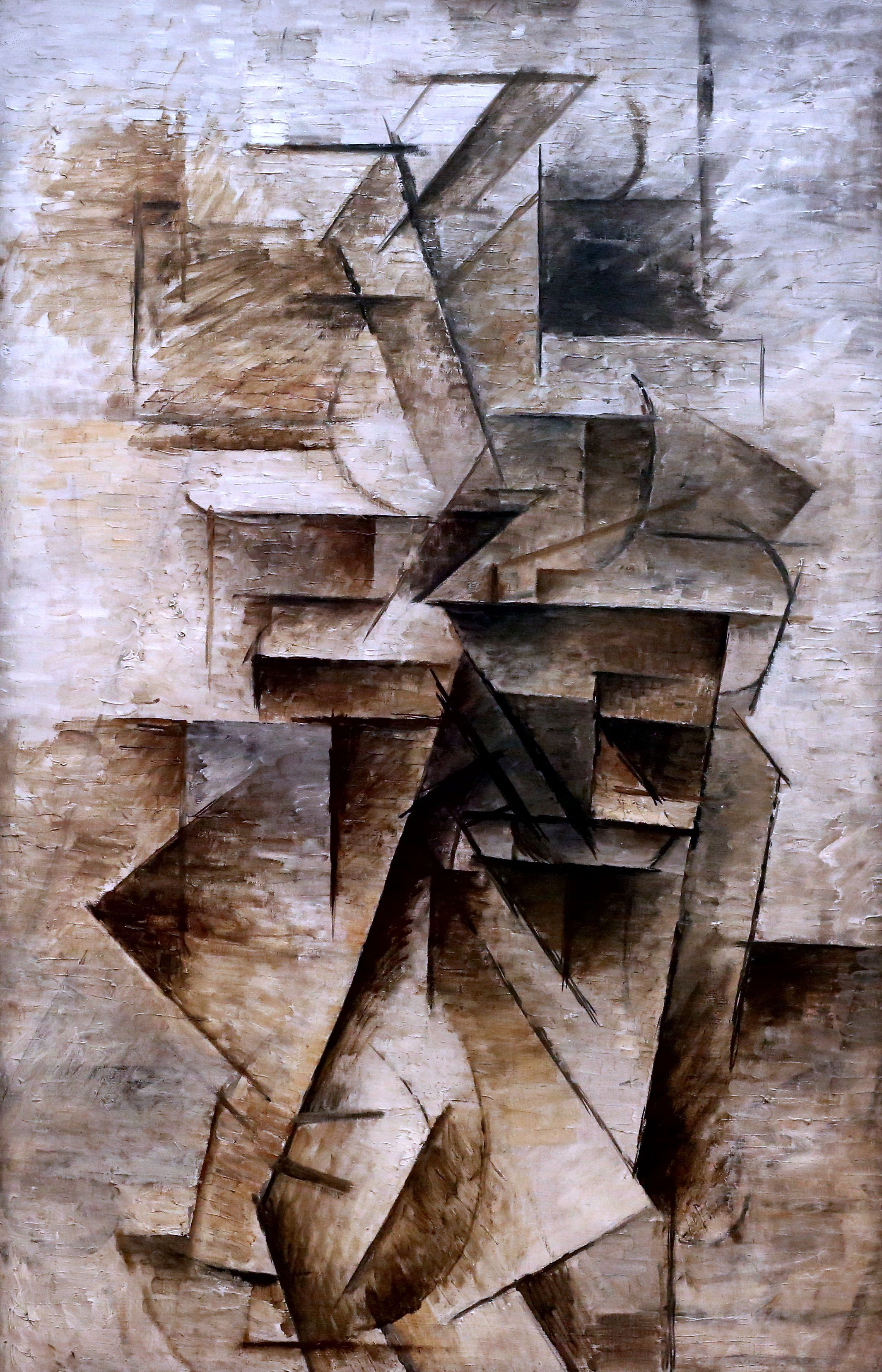 Picasso girl with mandolin think