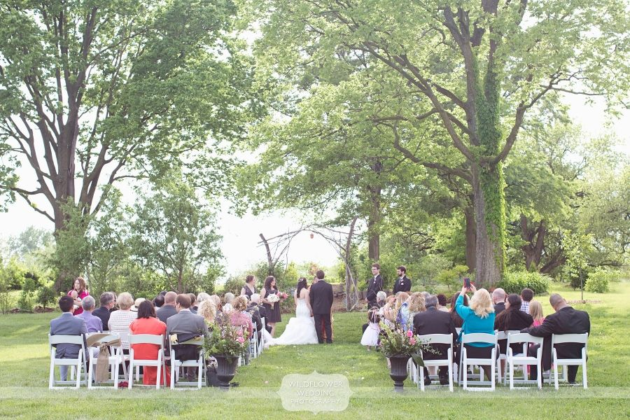 The Outdoor Ceremony Space Is Magical At Blue Bell Farm In Fayette MO Just A Short Drive From Columbia This Rustic Wedding Venue Has It All Gorgeous