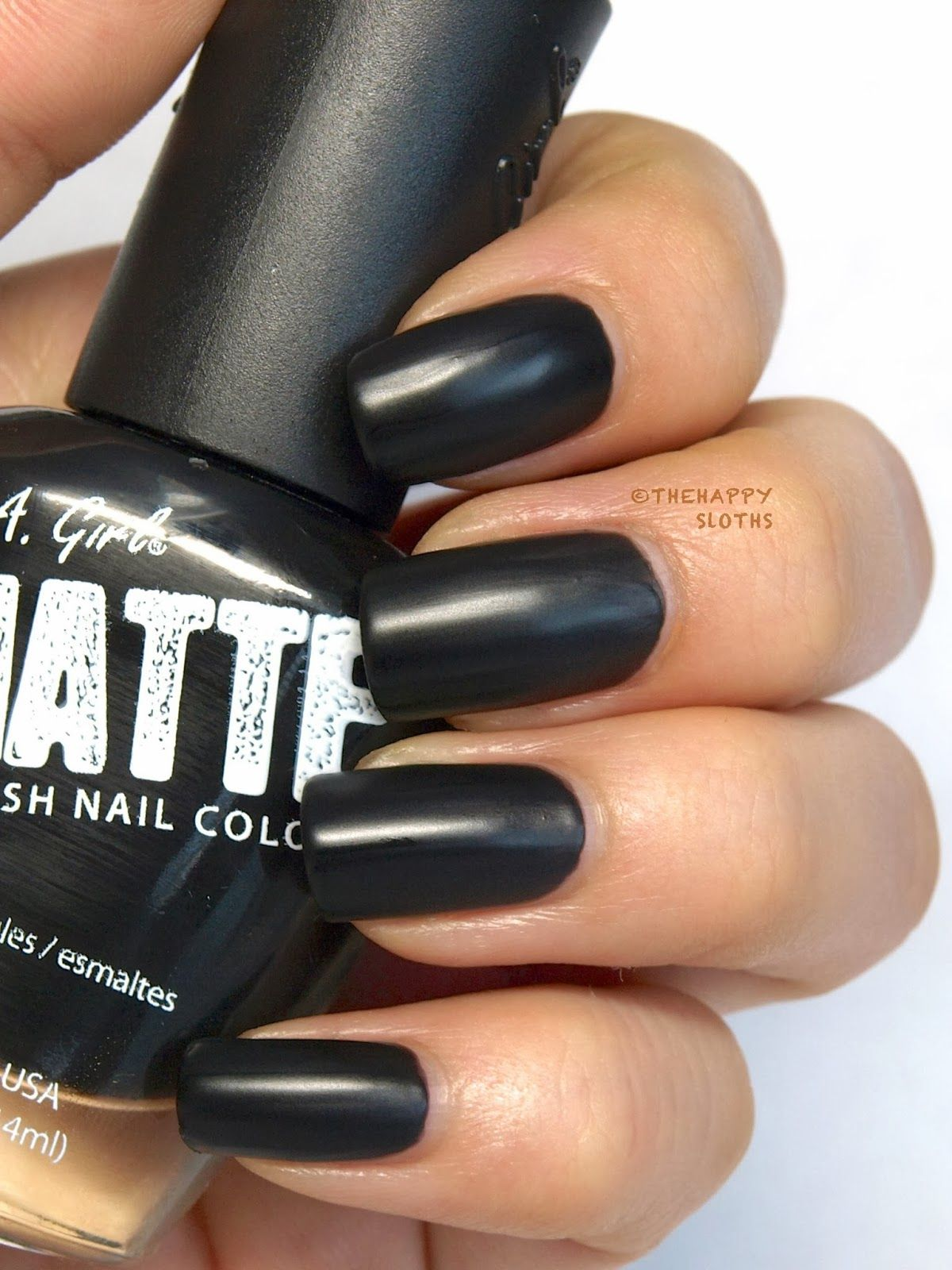 The Happy Sloths: L.A Girl Matte Finish Nail Polish in \