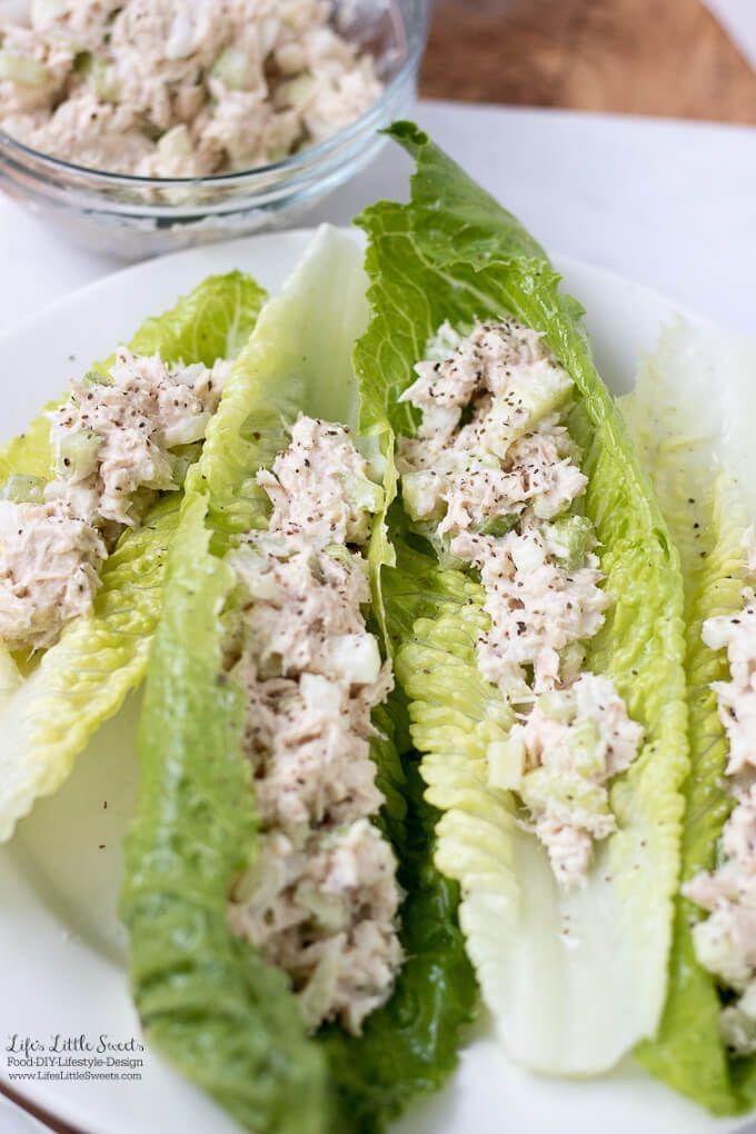 Tuna Salad Recipe Romaine Lettuce