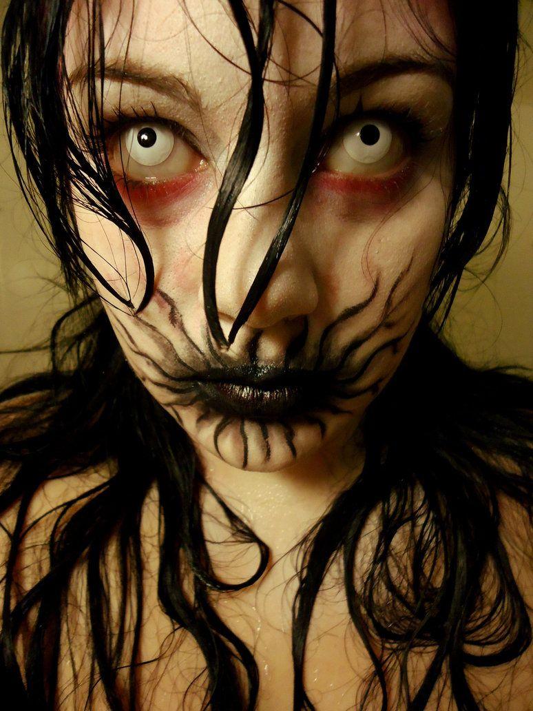 Halloween makeup - comic book zombie.