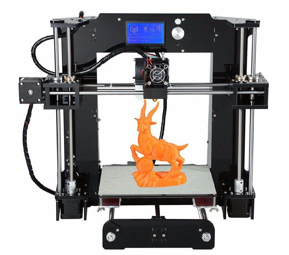 High Quality 3D Printer 2016 A6 Model Free Shipping 3d