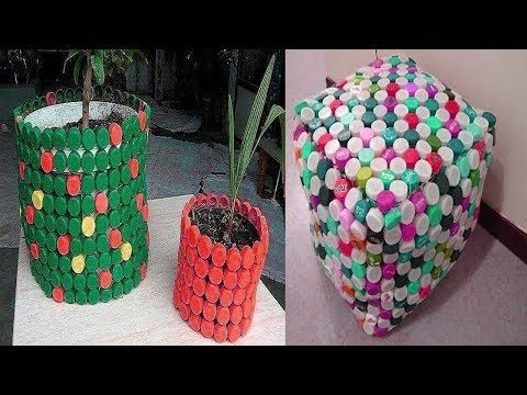 Pretty Plastic Bottle Caps Crafts Ideas Cool Ideas With