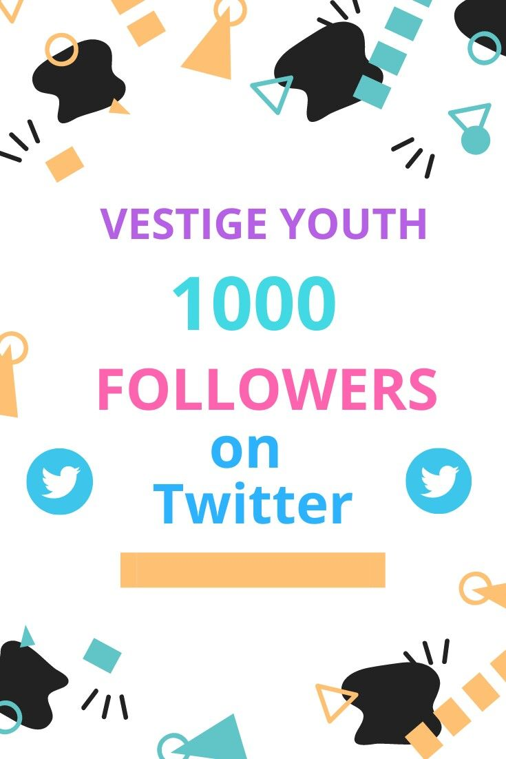 We are glad to have 1000 followers on Twitter .