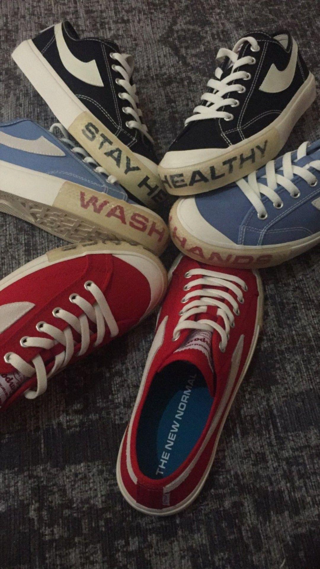 Sepatu Compass The New Normal Di 2020 Warna Medis