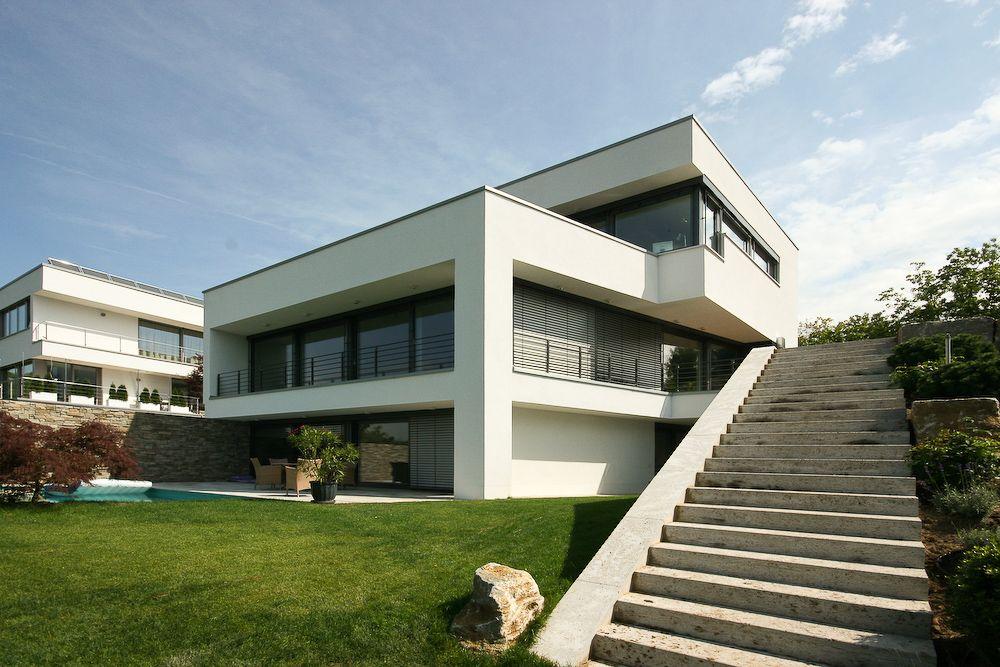 Architektenhaus am Hang in Wiesbaden bauen in 2020