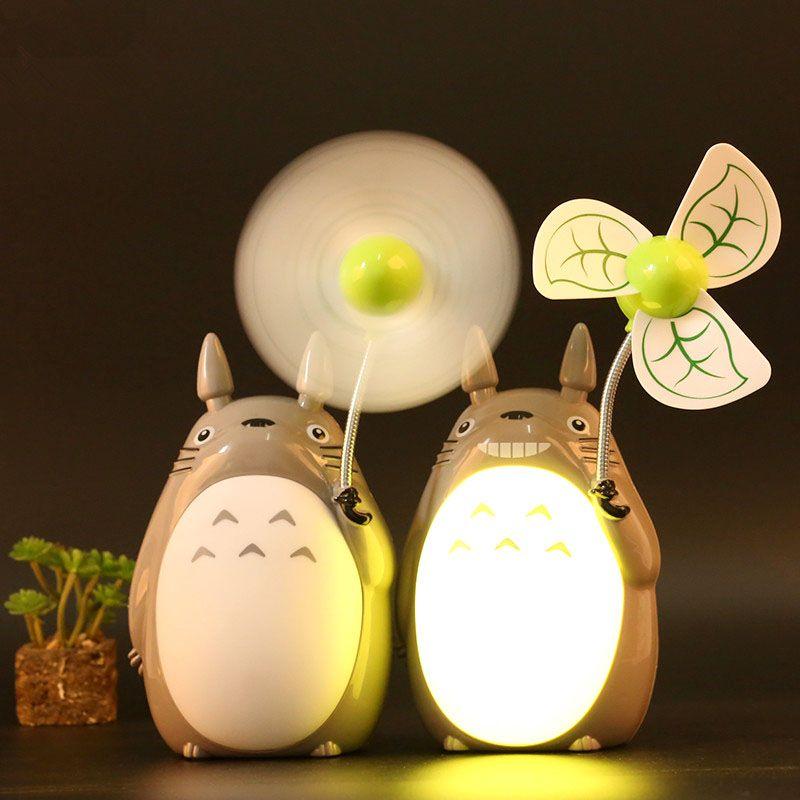 My Neighbor Totoro Led Fan Studio Ghibli Totoro Totoro Merchandise