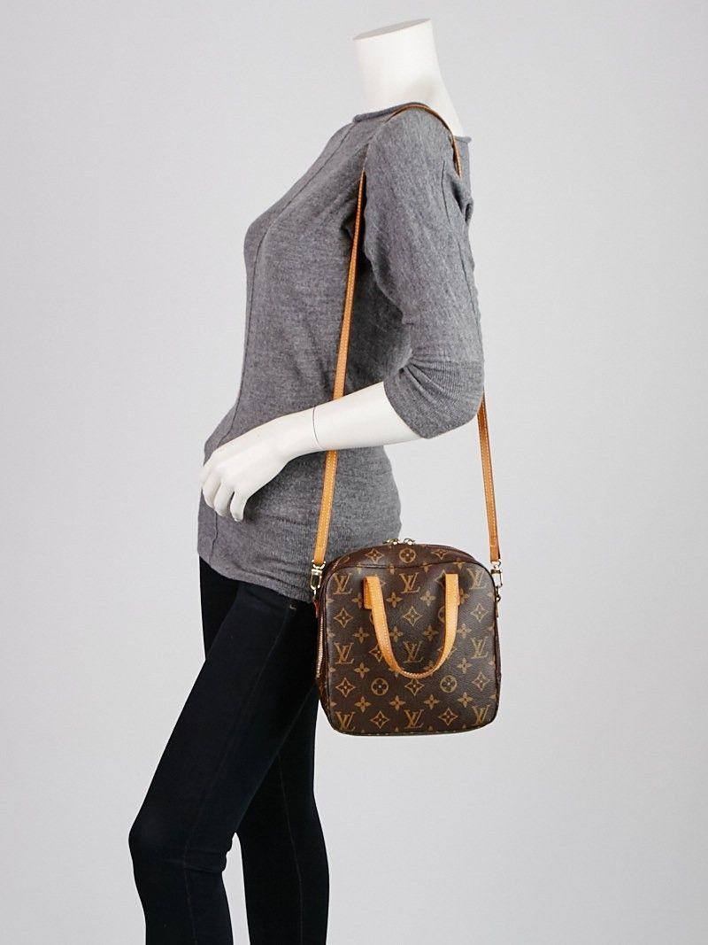 1e2adc2a334f Louis Vuitton Monogram Canvas Spontini Bag