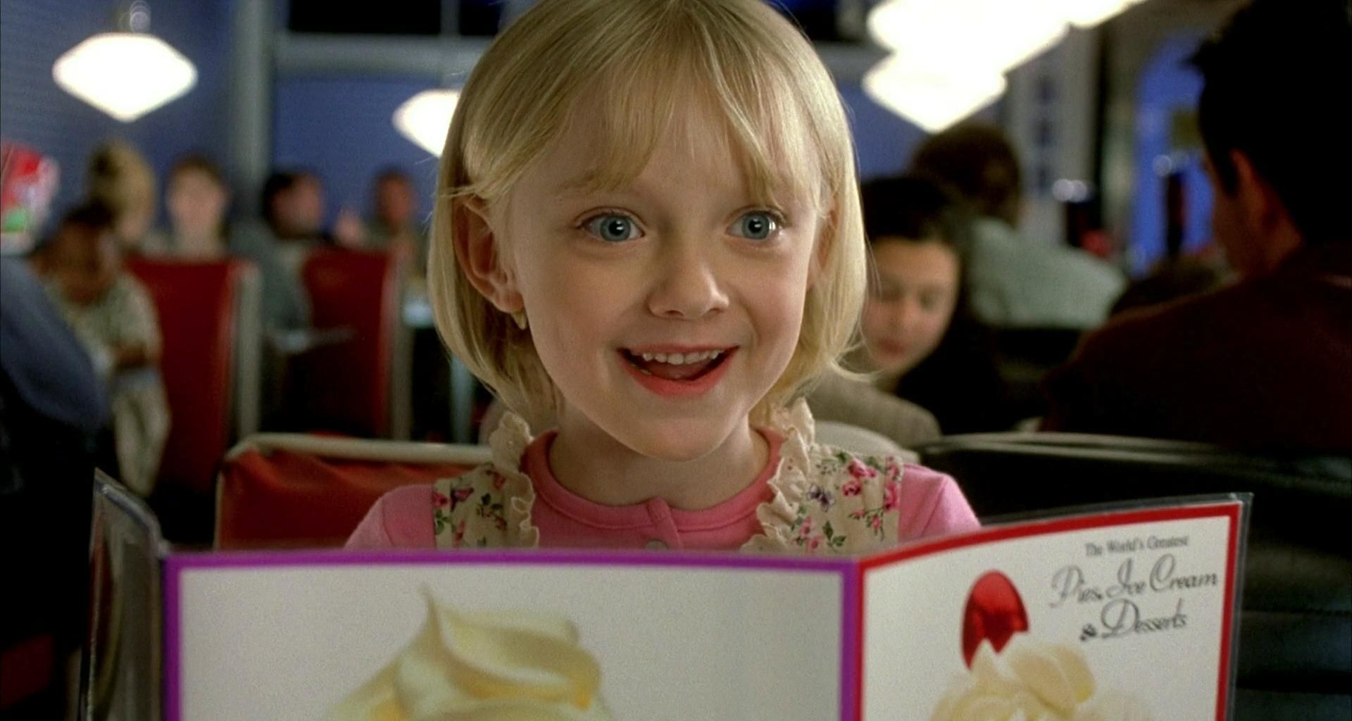 Young Dakota Fanning in I Am Sam | Best child actress ... I Am Sam Elle Fanning
