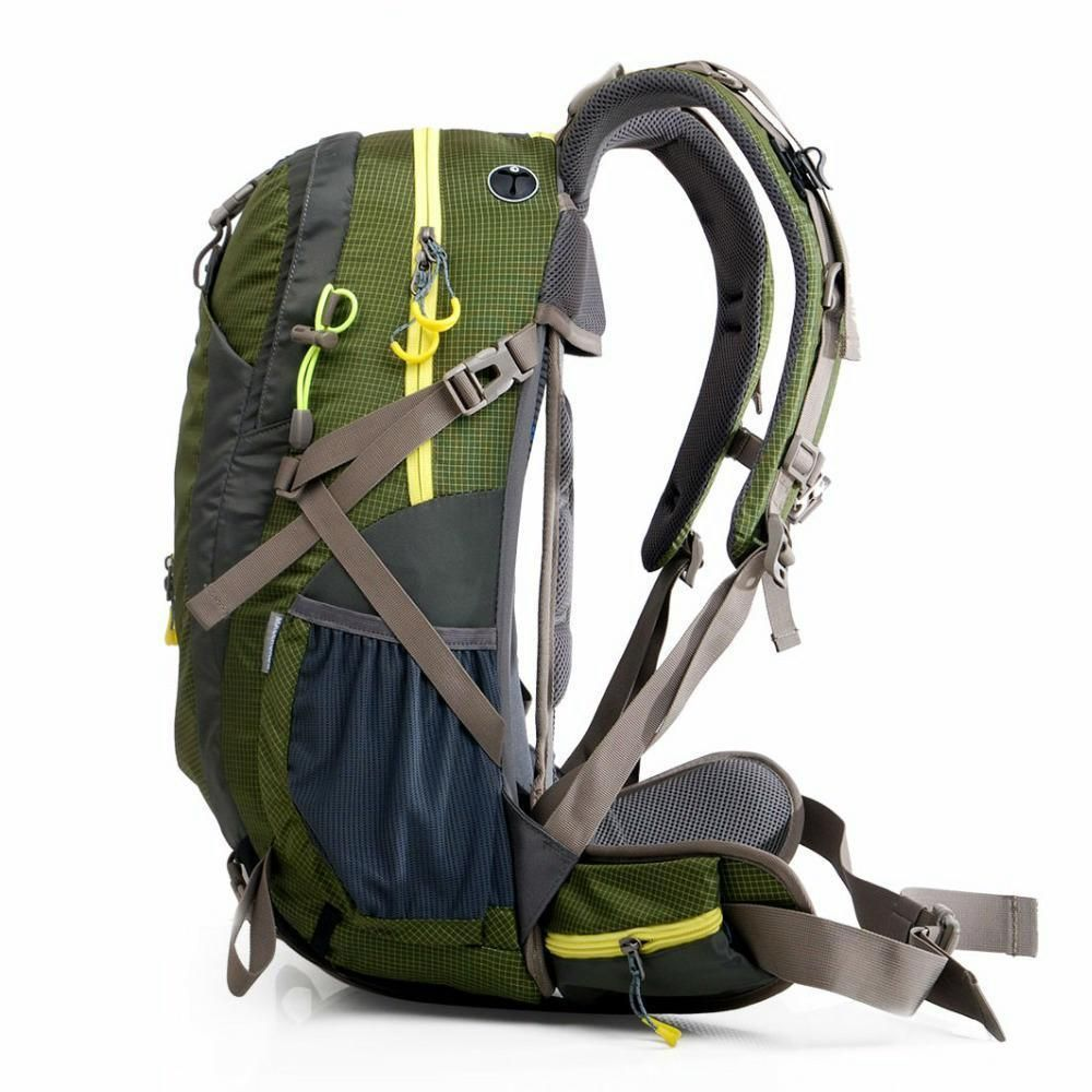 ad3fd605f3d Outdoor Camping Backpack Travel Hiking Bag Waterproof Trekking Rucksack 40L  50L  outdoor  sports
