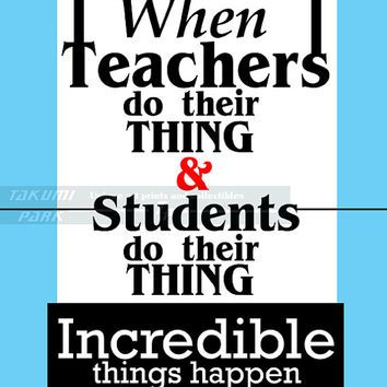 TEACHER INSPIRATIONAL QUOTES POSTERS image quotes at relatably.com ...
