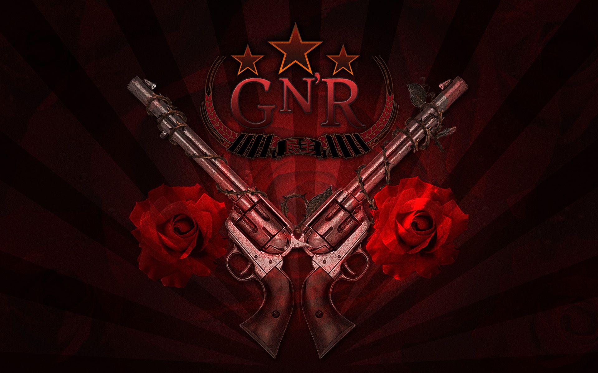 Guns N Roses Hd Wallpapers Backgrounds Wallpaper Rose Wallpaper