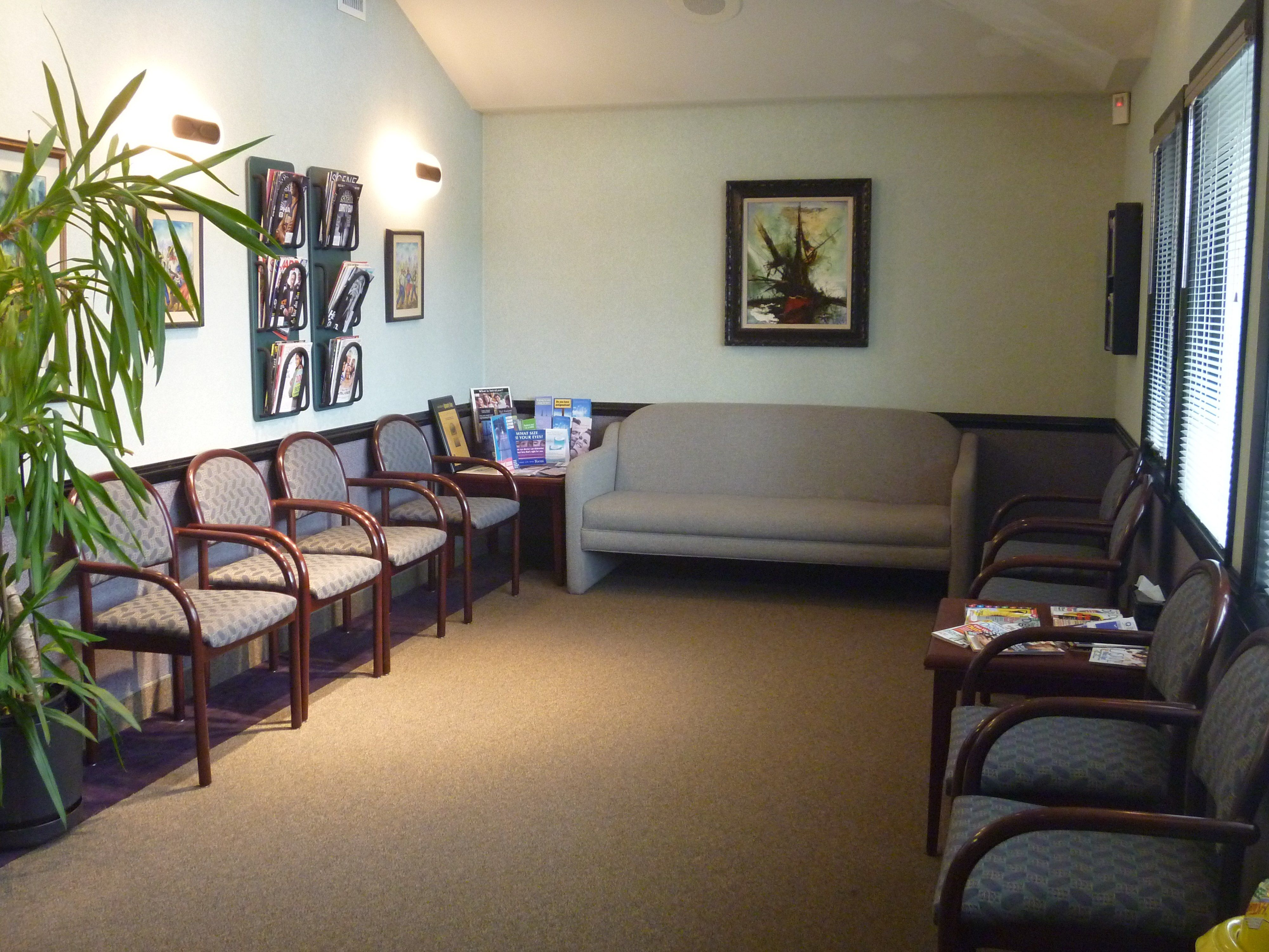 Patients are warmly welcomed into the waiting room. | Our New ...