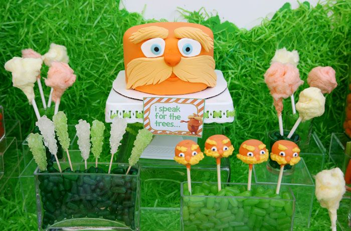Lorax party for Diego's 3rd b-day?