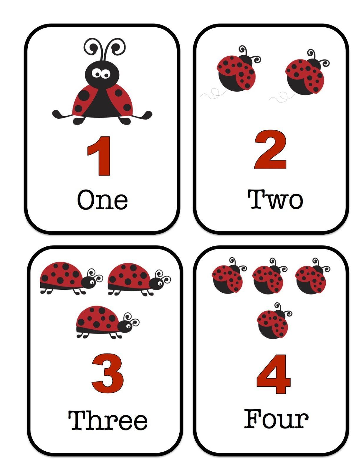 Ladybug Printable Preschool Printables