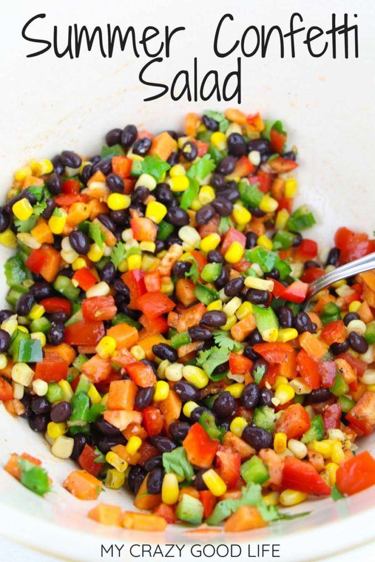 Summer Confetti Salad | Cowboy Caviar Recipe